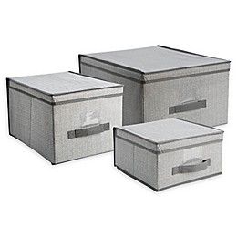 Simplify Large Storage Box in Grey