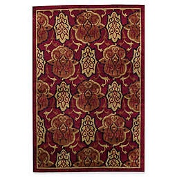 Bokara Rug Company® Himalayan 6' x 9' Hand-Knotted Area Rug in Red/Black