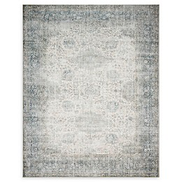 Magnolia Home by Joanna Gaines™ Lucca Powerloomed Rug in Mist/Ivory