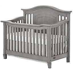 evolur™ Fairbanks 5-in-1 Convertible Crib in Storm Grey