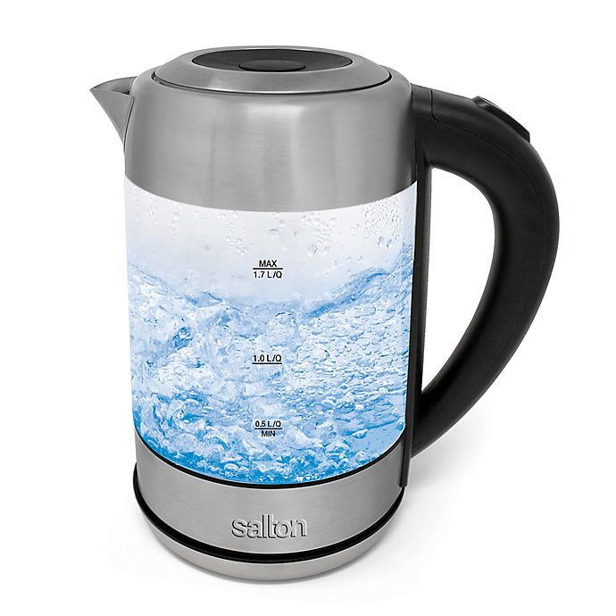 Alternate image 1 for Salton® Cordless Electric Glass Kettle