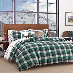 Eddie Bauer® Birch Cove Twin Comforter Set in Green