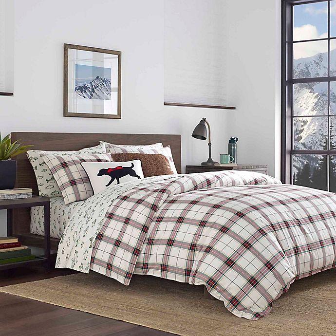 Alternate image 1 for Eddie Bauer® Riverdale Plaid Red Comforter Set
