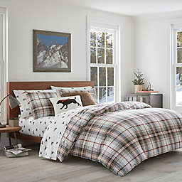 Eddie Bauer® Classic Plaid Red King Comforter Set