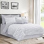 Darin 12-Piece Queen Comforter Set in Grey