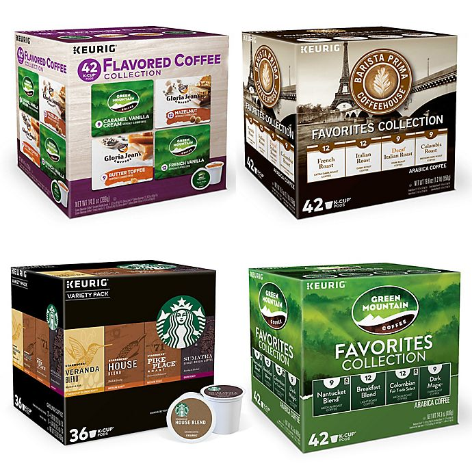 Alternate image 1 for Keurig® K-Cup® Pods Coffee Variety Pack Collection