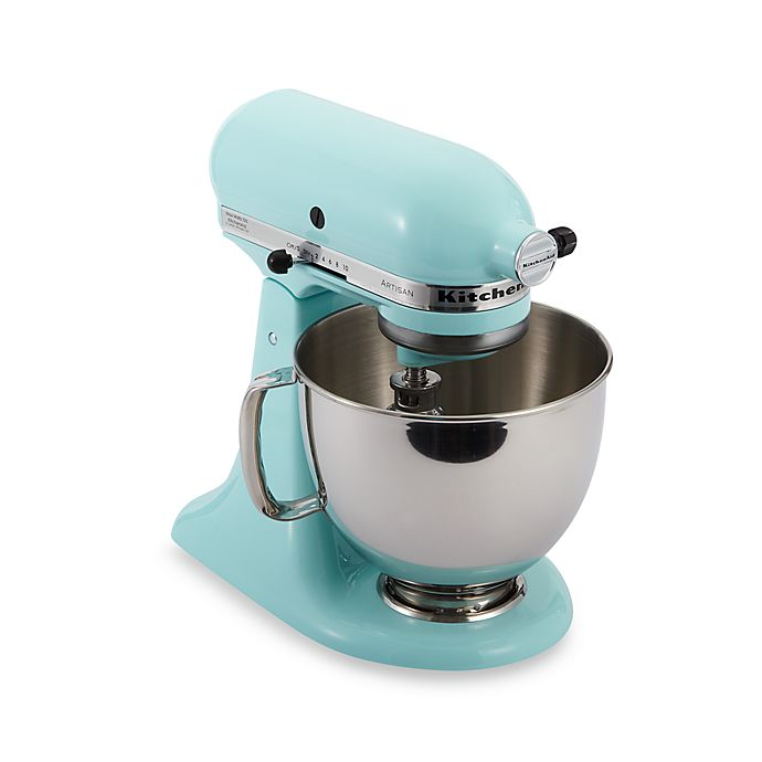 Alternate image 1 for KitchenAid® Artisan® 5 qt. Stand Mixer in Ice