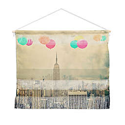 Deny Designs Maybe Sparrow Ballons Landscape Wall Art