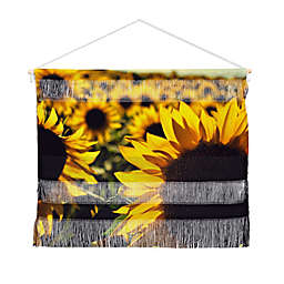Deny Designs Olivia St Claire Sunflower Landscape Hanging Wall Art