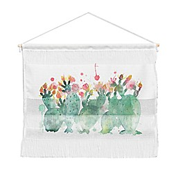 Deny Designs Dash and Ash Messy Cactus Landscape Wall Hanging