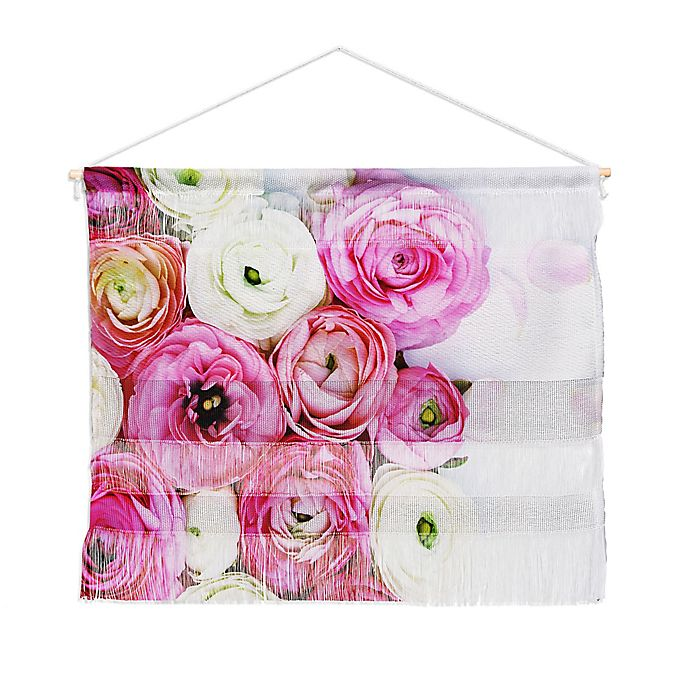 Alternate image 1 for Deny Designs Bree Madden Floral Beauty Landscape 16-Inch x 22-Inch Wall Hanging