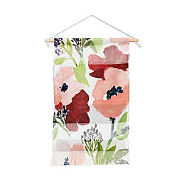 Deny Designs Laura Trevey Pink Poppies Wall Hanging