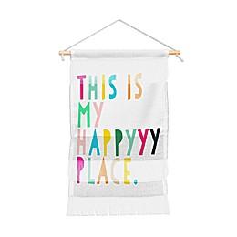 Deny Designs Hello Sayang Happyyyy Wall Hanging