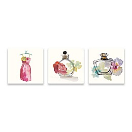 Avanti Collection 14-Inch x 42-Inch Canvas Wall Art (Set of 3)