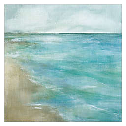 Gentle Tides Square Canvas Wall Art