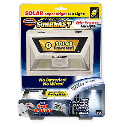 Atomic Beam™ SunBlast Solar Powered LED Light