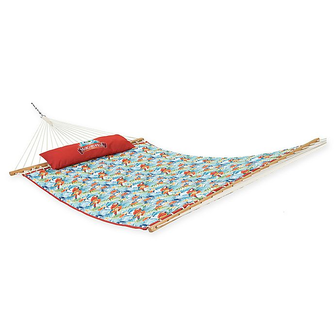 Alternate image 1 for Margaritaville® Quilted Hammock with Coordinating Pillow