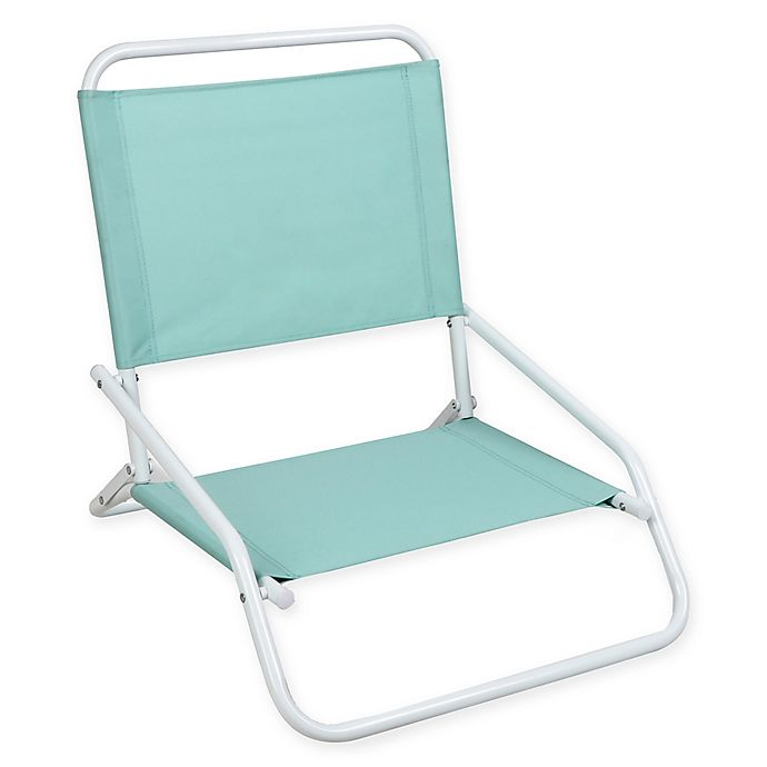 Alternate image 1 for 1-Position Beach Chair in Blue