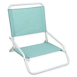 1-Position Beach Chair in Blue