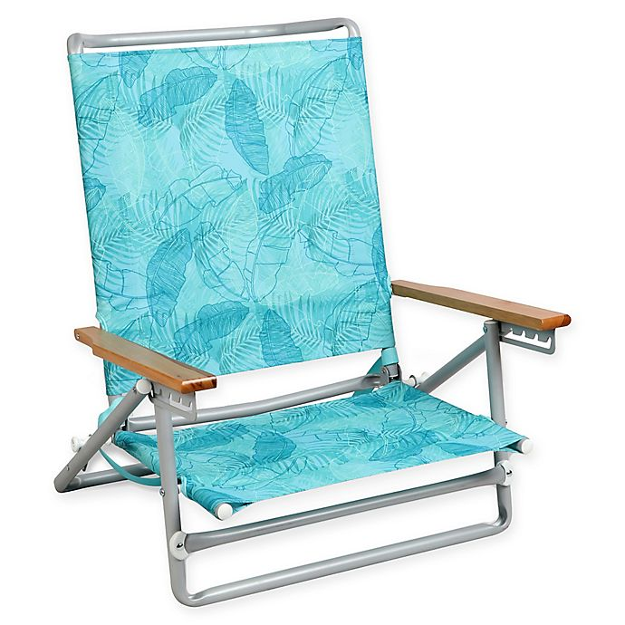 Alternate image 1 for 5-Position Beach Chair in Blue