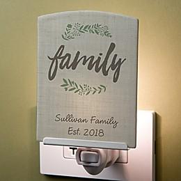 Cozy Home Personalized Nightlight