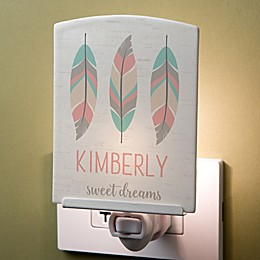 Boho Baby Personalized Nightlight