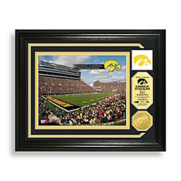 University of Iowa Kinnick Stadium Minted Team Medallion Photo Mint Frame