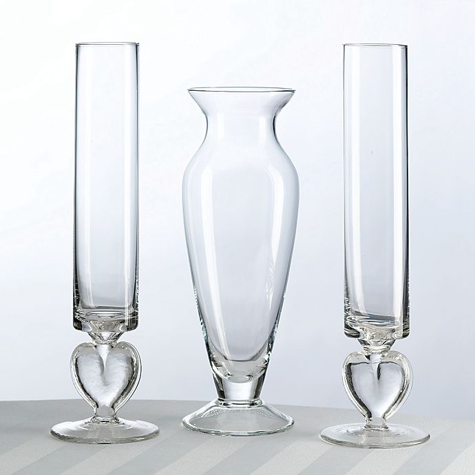 Lillian Rose™ Glass Unity Sand Vase Set | Bed Bath & Beyond