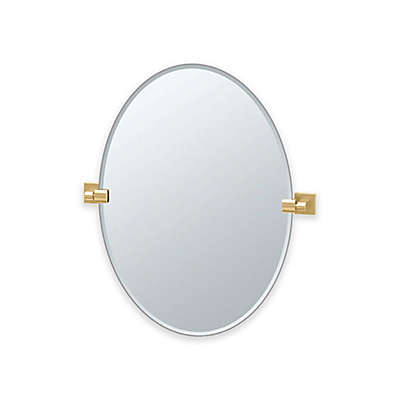 Gatco® Elevate Frameless Oval Wall Mirror