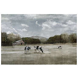 Country Satisfaction Canvas Wall Art