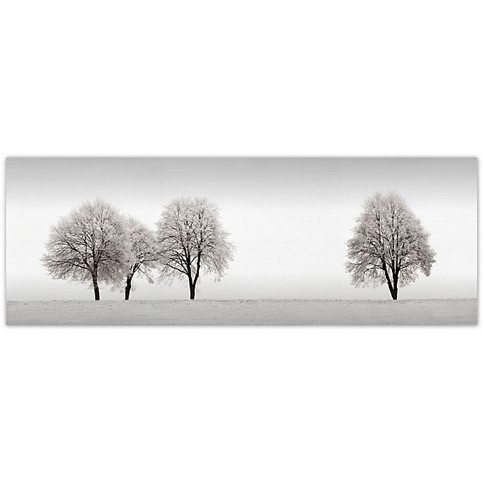 Alternate image 1 for Tree Line 36-Inch x 12-Inch Canvas Wall Art