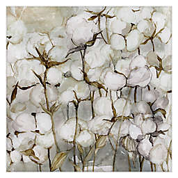Cotton Field Canvas Wall Art