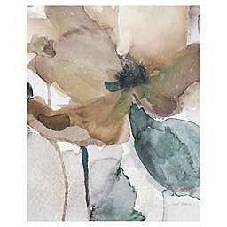 Watercolor Poppy I 20-Inch x 16-Inch Canvas Wall Art