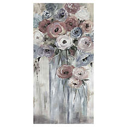 Bottles and Blooms Canvas Wall Art