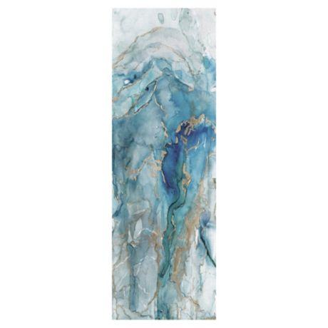 Carol Robinson Abstract Lapis Light Canvas Wall Art Bed