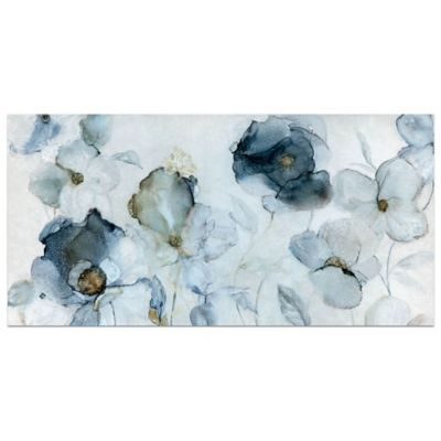 Carol Robinson Flowering Indigo Canvas Wall Art Bed Bath