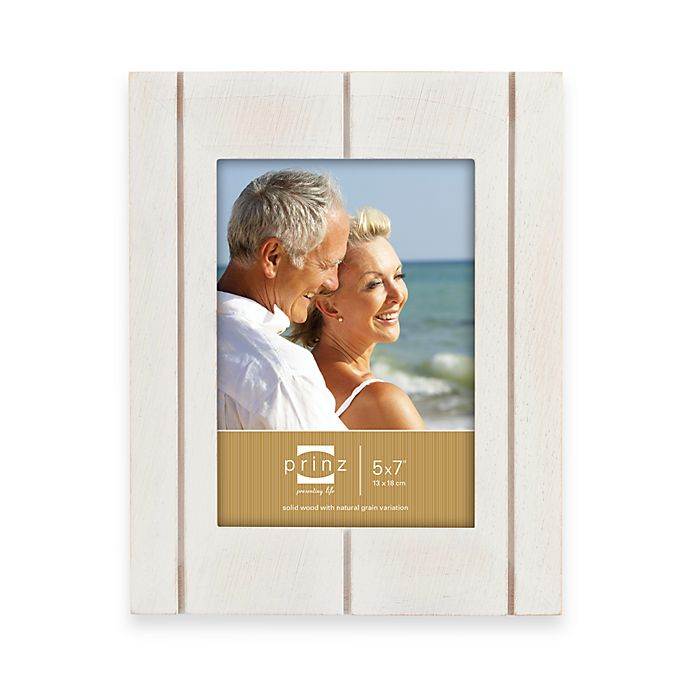 Prinz Seaside Whitewash Wood Frames | Bed Bath & Beyond