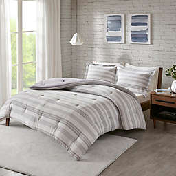 Urban Habitat Cole Jersey Knit 3-Piece King/California King Comforter Set in Grey