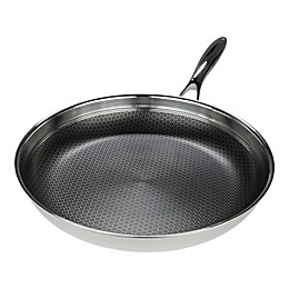 Frieling Black Cube™ Nonstick 12.5-Inch Tri-Ply Stainless Steel Fry Pan
