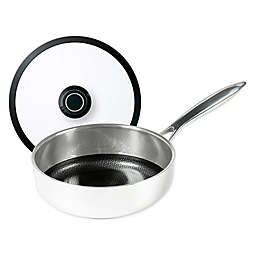 Frieling Black Cube™ Nonstick Tri-Ply Stainless Steel Sauté Pan