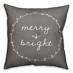 Designs Direct Merry Bright Square Throw