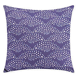 Fan Dance Square Throw Pillow