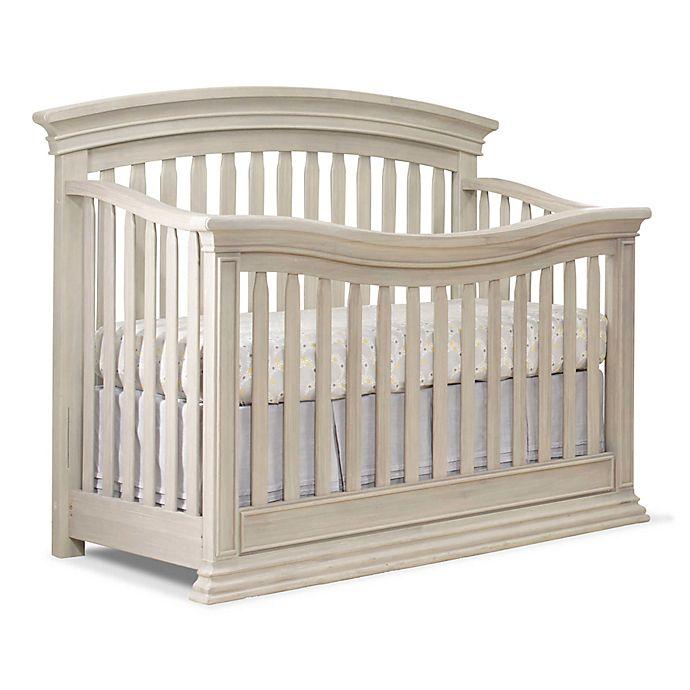 Alternate image 1 for Sorelle Monterey 4-in-1 Convertible Crib in Heritage Fog