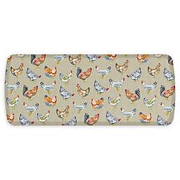 GelPro® Elite Comfort Chicken Run Floor Mat in Warm Stone