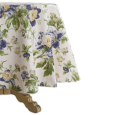 Waverly Alexis Indoor/Outdoor 70-Inch Round Tablecloth