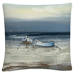 Trademark Fine Art Rio Low Tide Square Throw Pillow