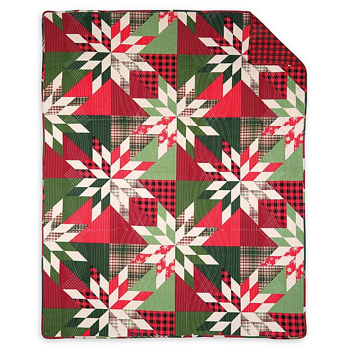 Alternate image 1 for Northlyn Throw Blanket in Green