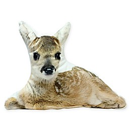 Northlight® Winter's Beauty Fawn Throw Pillow in Brown