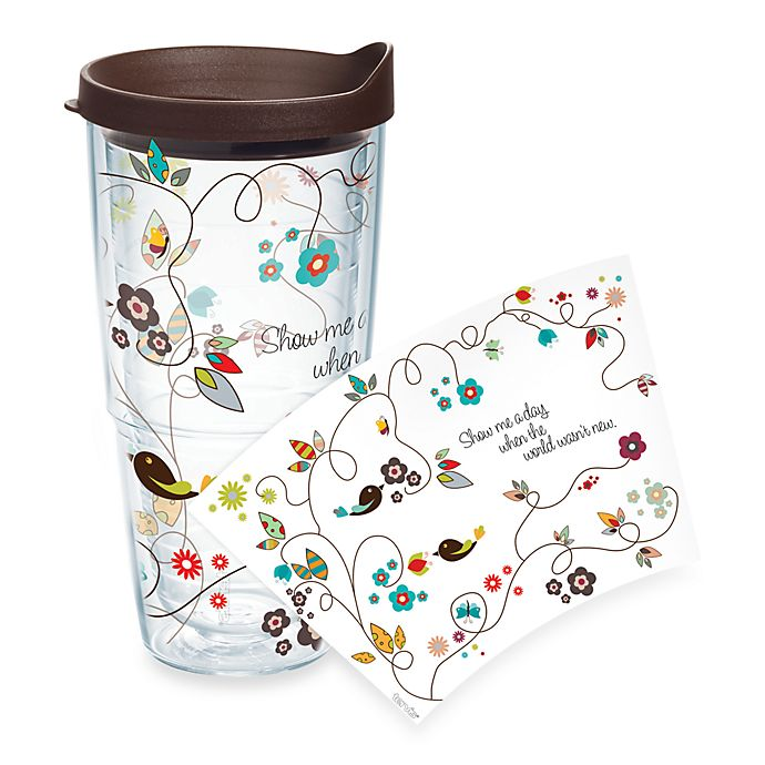 Alternate image 1 for Tervis® Trendy Bird Wrap 24-Ounce Tumbler with Lid