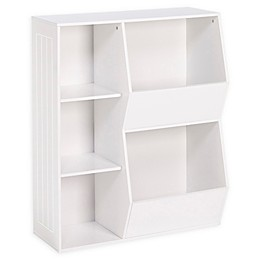 RiverRidge Home 3-Cubby, 2-Veggie Bin Cabinet for Kids